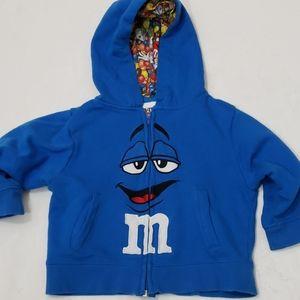 M&M's hoodie